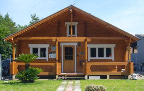 建築がラクな平屋住宅用ログハウス