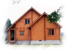キートスの住宅用ログハウス・ML-F1