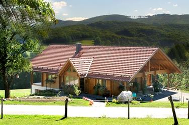 高原のログハウス