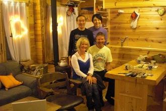 外国からのスキー客