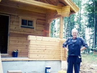 フィンランドのログハウス・セルフビルダー