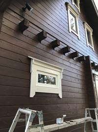サッシ窓設置